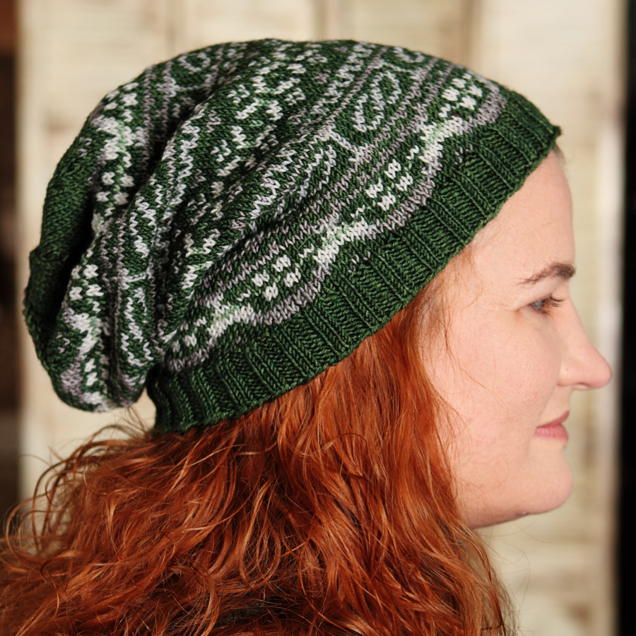 Adult Coloring Book Hat - Knitting Fairy Grand Prairie