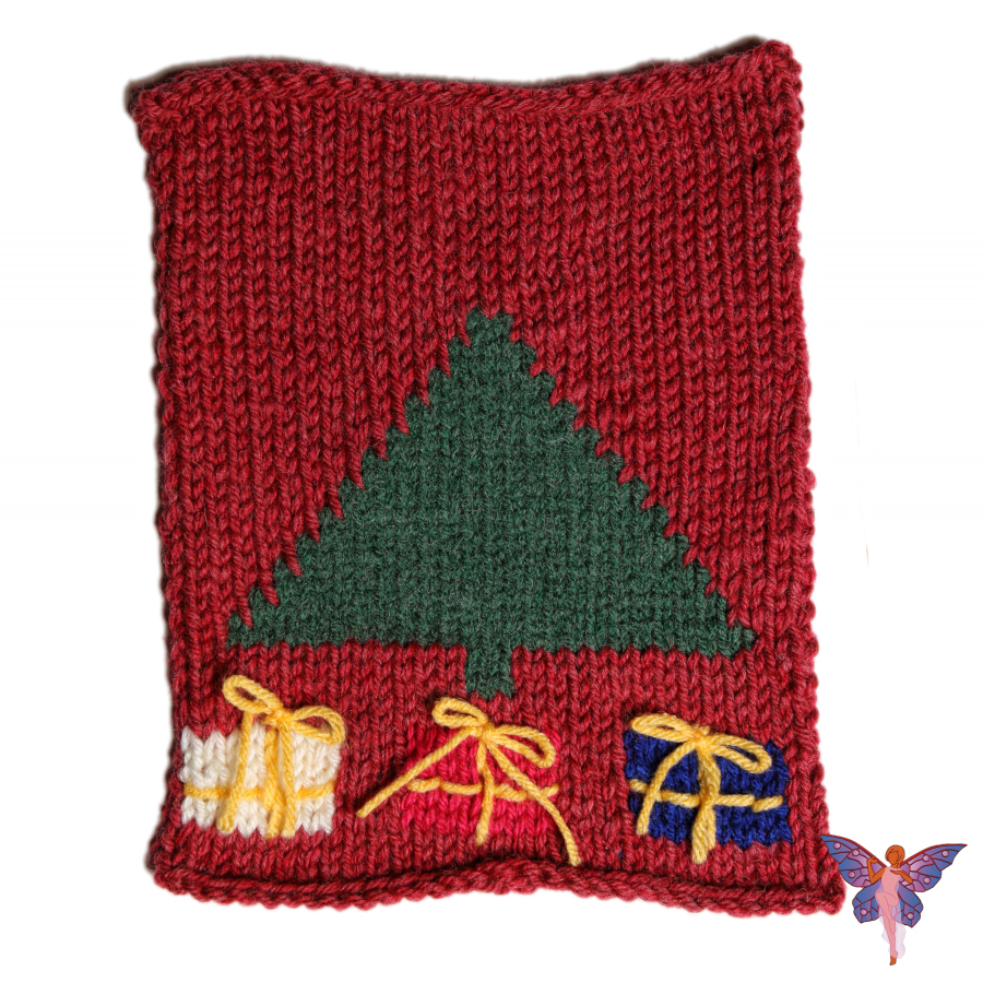 Knitted Intarsia Christmas Stocking Class